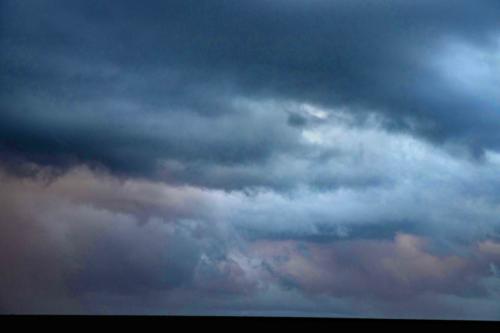 Kostbar-farbige Wolkenmuster, 03.02.2021, 18.20