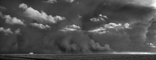 Ausgreifende Wolkenwand 28.01.2020