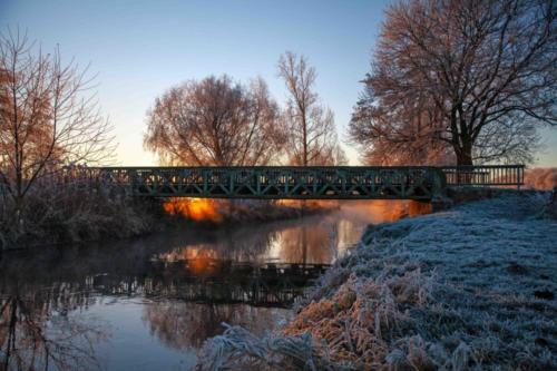 Alte Eisenbahnbrücke bei Süchteln 04.12.2016