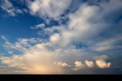 Drei Vögel und vier Wolken 12.04.2021