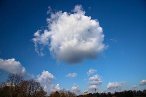 Eine Wolke kommt selten allein, 26.02.2021