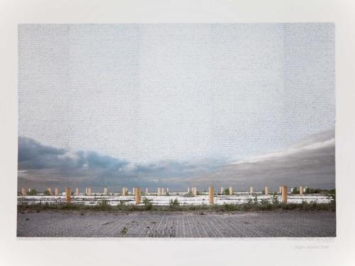 Stefan Kaiser, Himmelreich und Säulenordnung, 2015, 55 x 80cm, Fotografie und Zeichnung