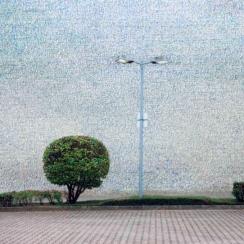 Stefan Kaiser, Lichtenberg, 2012, 90 x 70 cm, Fotografie und Zeichnung, Privatbesitz