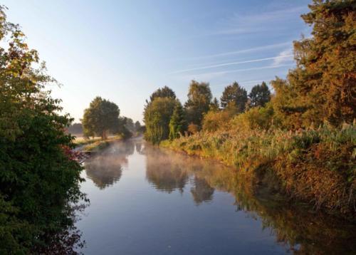 Morgennebel an der Niers bei Wachtendonk 22.09.2016