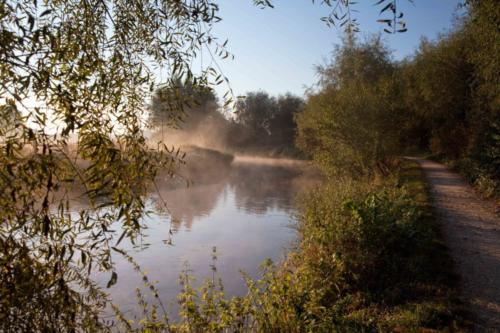 Morgennebel an der Niers bei Wachtendonk II 22.09.2016
