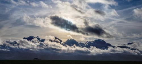 Niederrheinisches Hochgebirge in Wolken 22.12.2020
