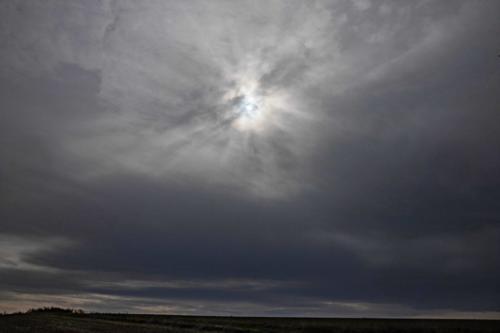 Sonne aus dunklen Wolken 02.10.2020