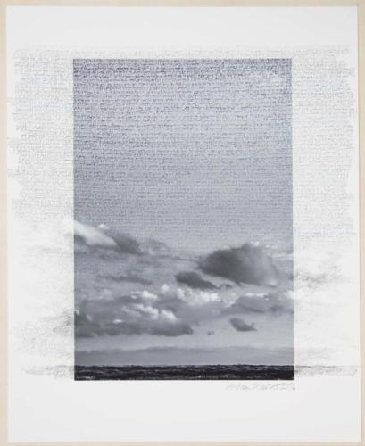Stefan Kaiser, Grenzüberschreitung I, 2016, 50 x 40 cm, Fotografie und Zeichnung
