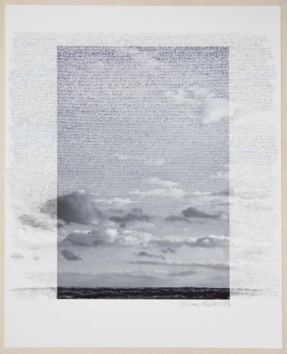 Stefan Kaiser, Grenzüberschreitung II, 2016, 50 x 40 cm, Fotografie und Zeichnung