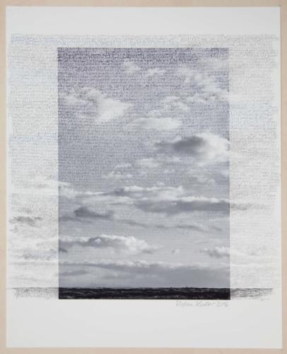 Stefan Kaiser, Grenzüberschreitung III, 2016, 50 x 40 cm, Fotografie und Zeichnung, Privatbesitz