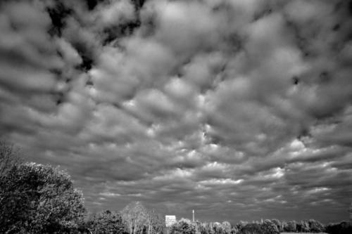 Wolken über dem weißen Haus 20.11.2020